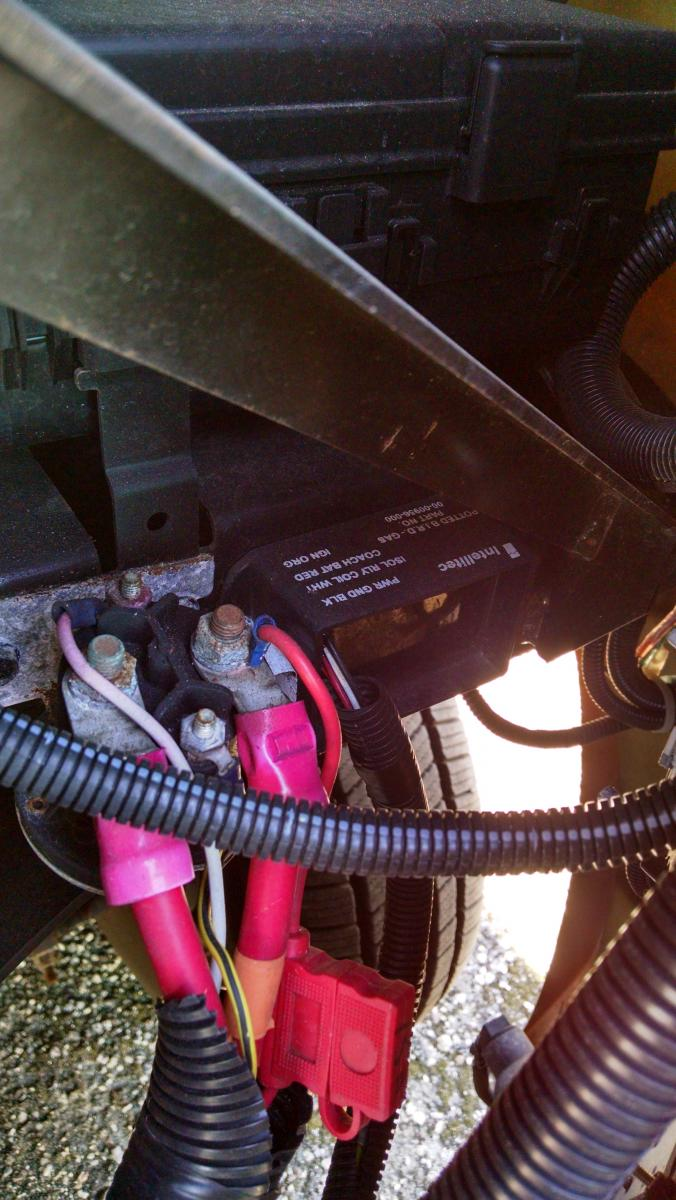 Battery disconnect solenoid - Thor Forums on cummins fuel shut off solenoid wiring diagram, winch solenoid diagram, basic ford solenoid wiring diagram, battery isolation solenoid wiring diagram, 1979 ford solenoid wiring diagram, solenoid switch diagram, warn solenoid wiring diagram, solenoid valve wiring diagram, volvo penta tilt trim diagram, 12 volt solenoid wiring diagram, relay diagram, 4 post solenoid diagram, 3 post starter solenoid,