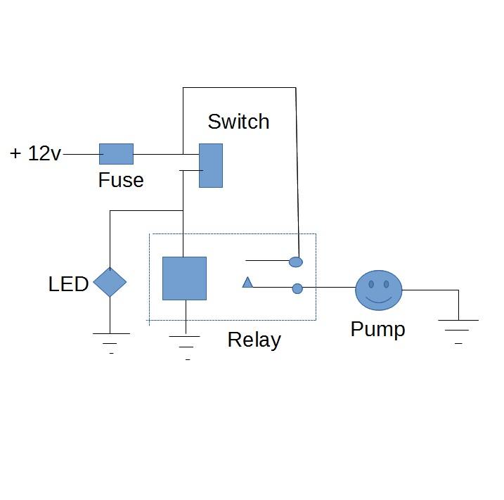 Rv Water Pump Switch Wiring Diagram