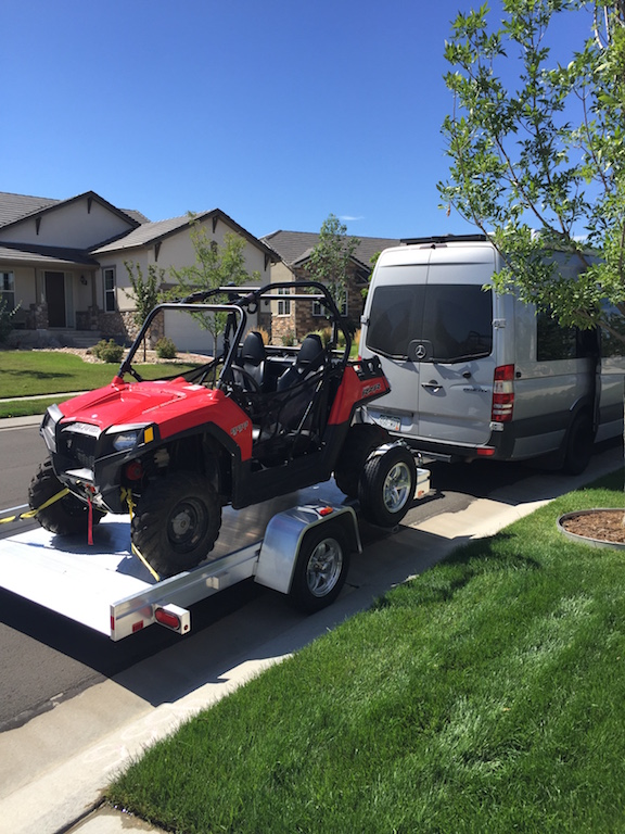 Click image for larger version  Name:Rzr on Trailer behind Sprinter 2016-08-10 10.37.15.jpg Views:55 Size:227.8 KB ID:16112