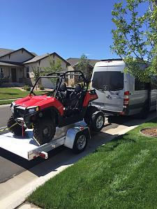 Click image for larger version  Name:Rzr on Trailer behind Sprinter 2016-08-10 10.37.15.jpg Views:104 Size:227.8 KB ID:16112
