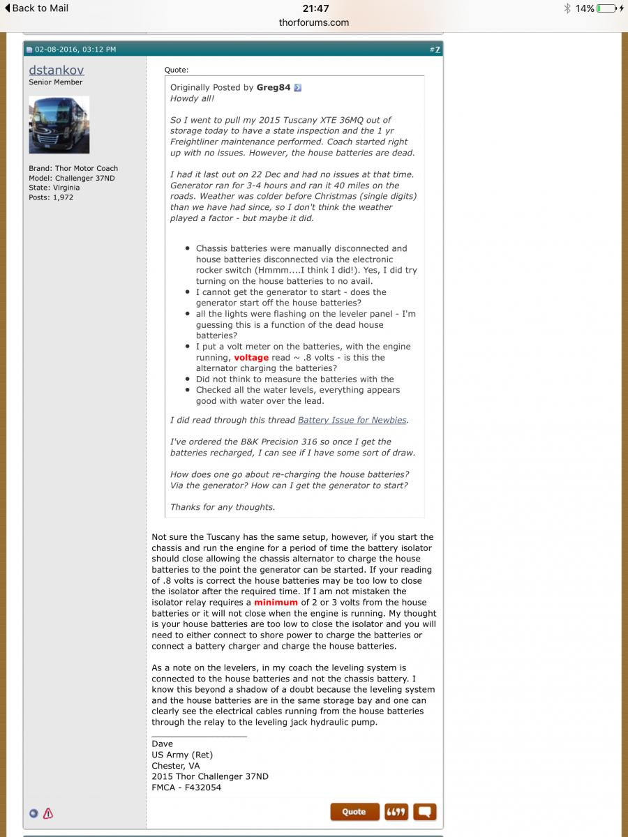 Emergency Start Switch And Chassis Battery Connected Thor Forums Rv Wiring Diagrams Click Image For Larger Version Name Views 398 Size 1458