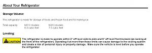 Click image for larger version  Name:NORCOLD Owners Manual on Leveling - an Example.jpg Views:61 Size:69.7 KB ID:22023