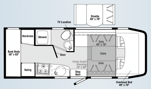Dream Axis Vegas Floorplans