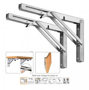 Click image for larger version  Name:Amazon.com_ 2PCS Folding Wall Mounted Shelf Bracket, Super Load Heavy Duty Stain.jpg Views:8 Size:41.3 KB ID:31343