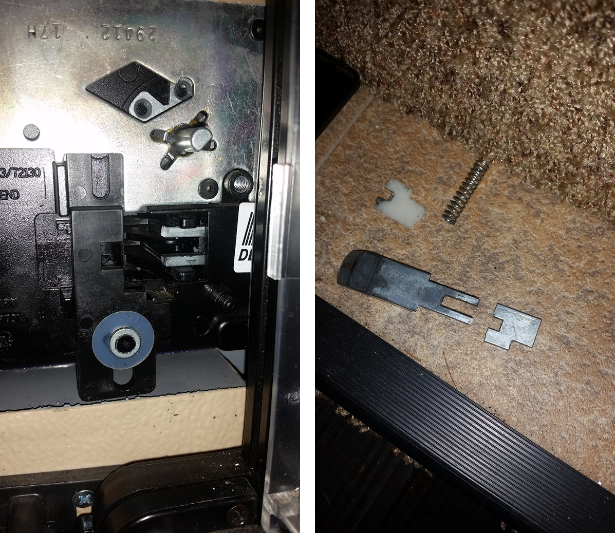 Axis door lock Snapped - Thor Forums